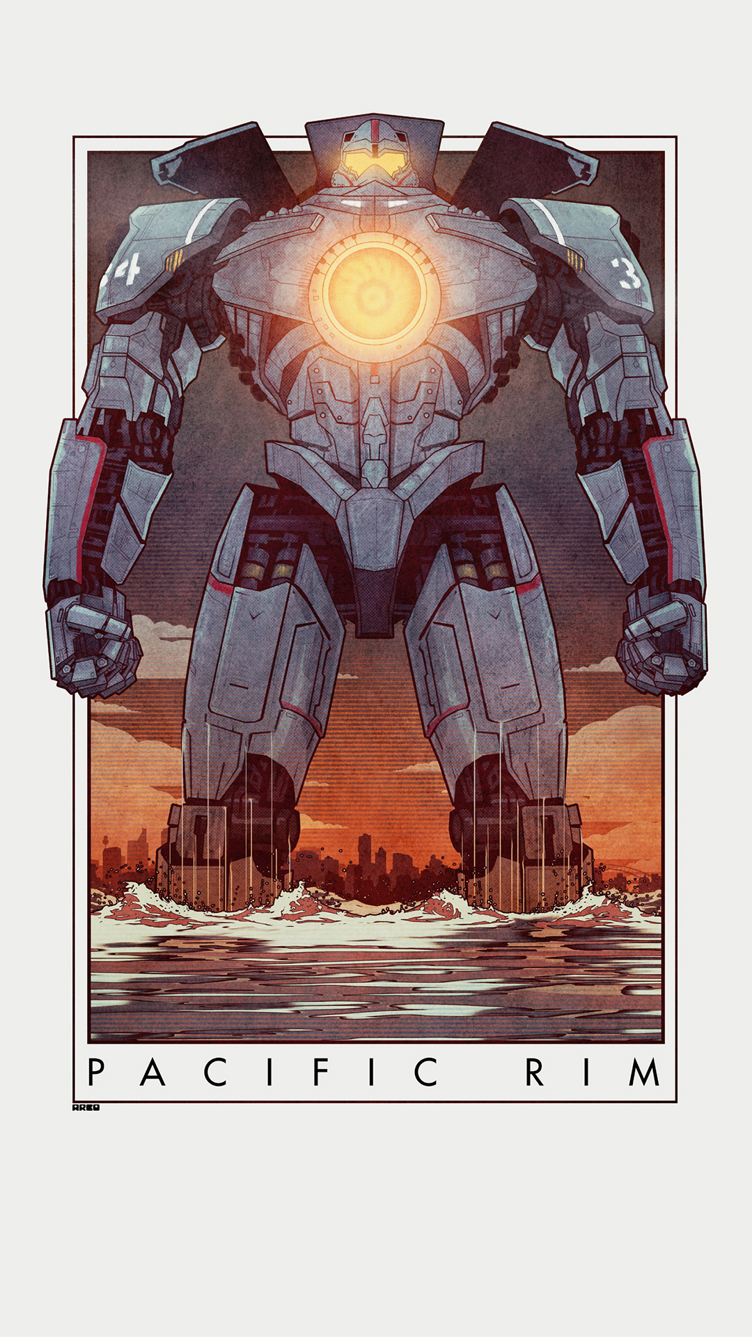 Pacific Rim robot cartoon