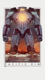 Pacific Rim robot cartoon