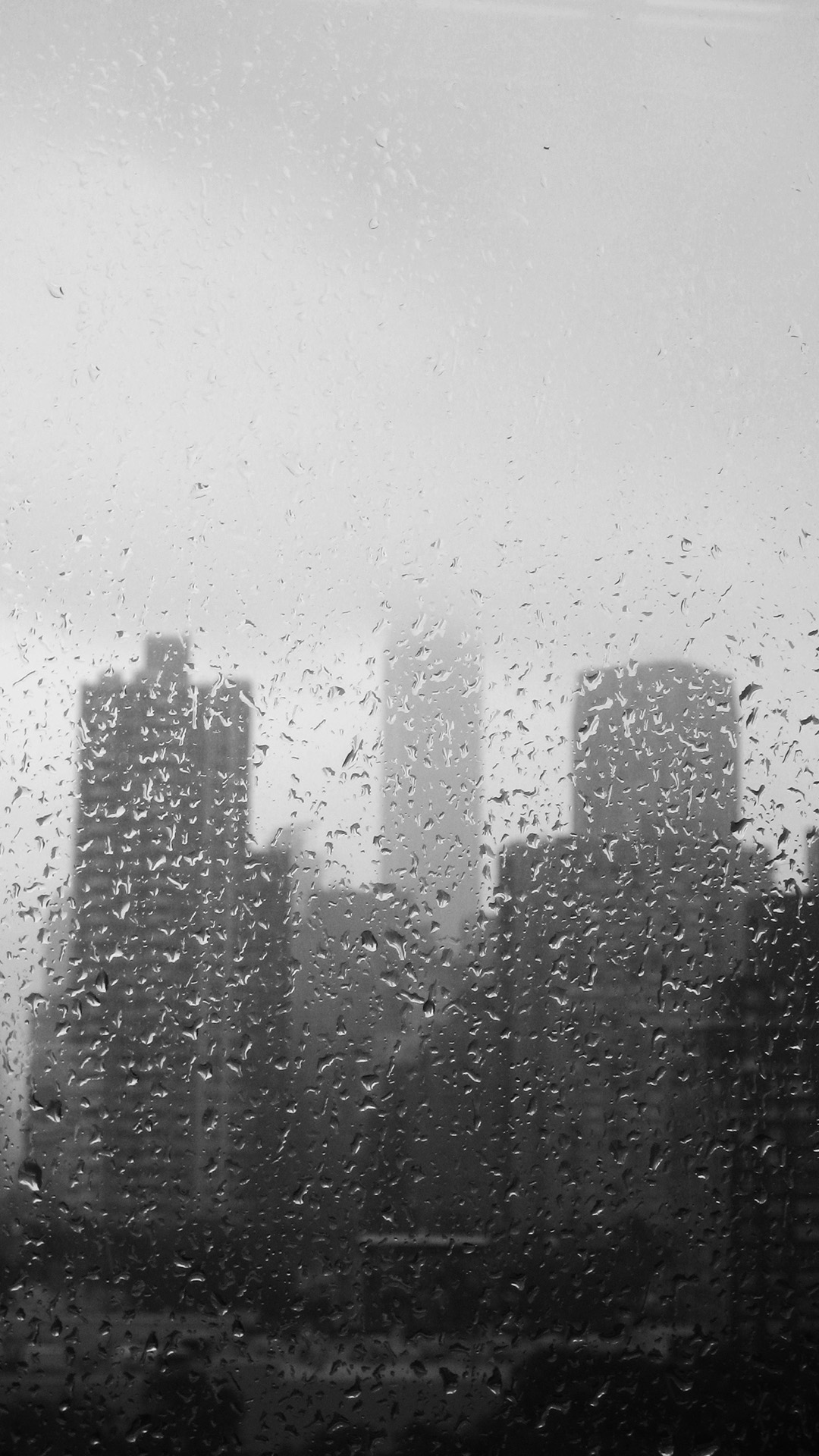 Rainning htc one wallpaper