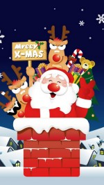 Santa Claus htc one wallpaper