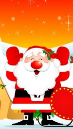 Santa Claus htc one wallpaper
