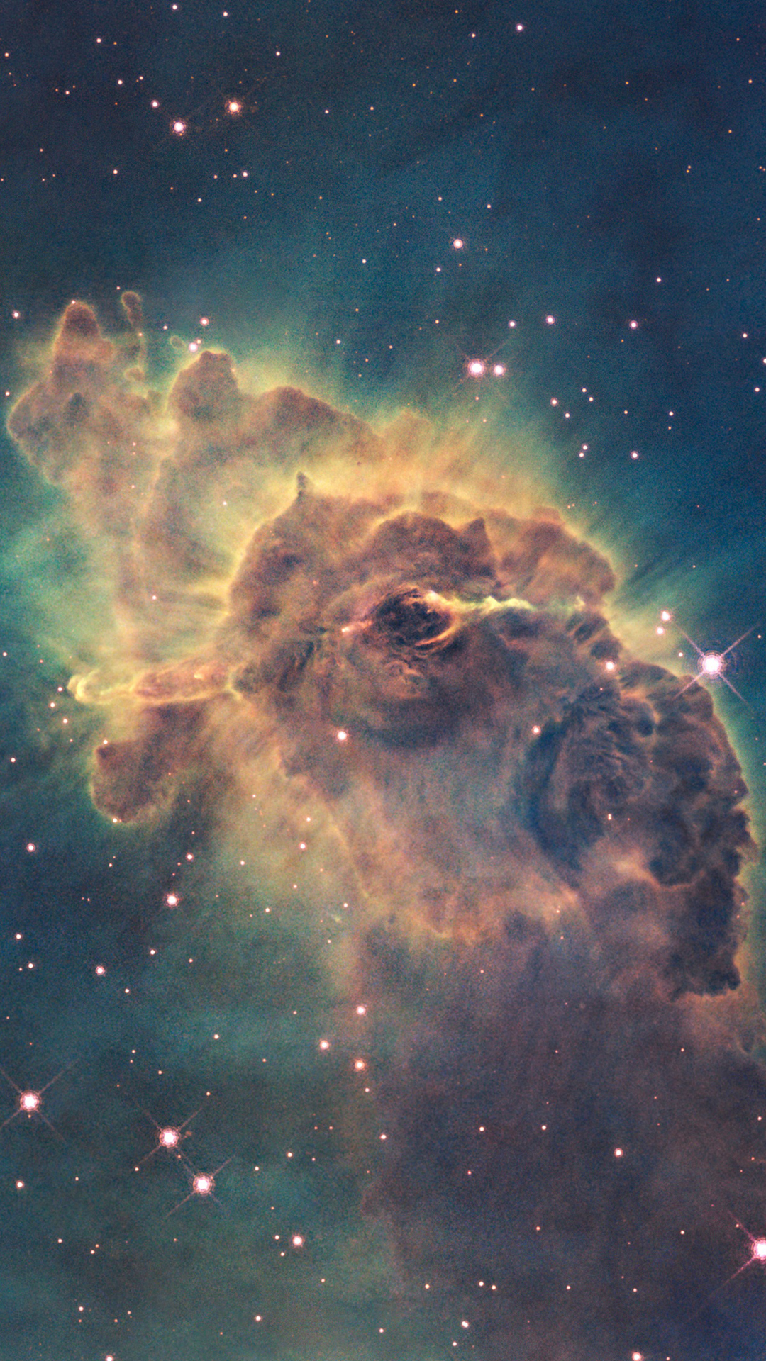 carina nebula - best htc one wallpapers, free and easy to download