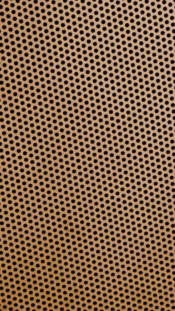 dizzy copper brown circle metal texture