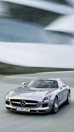 Mercedes-Benz SLS AMG htc one wallpaper