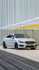Mercedes CLA 45 AMG htc one wallpaper
