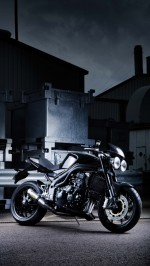 Triumph motorcycle htc one wallpaper