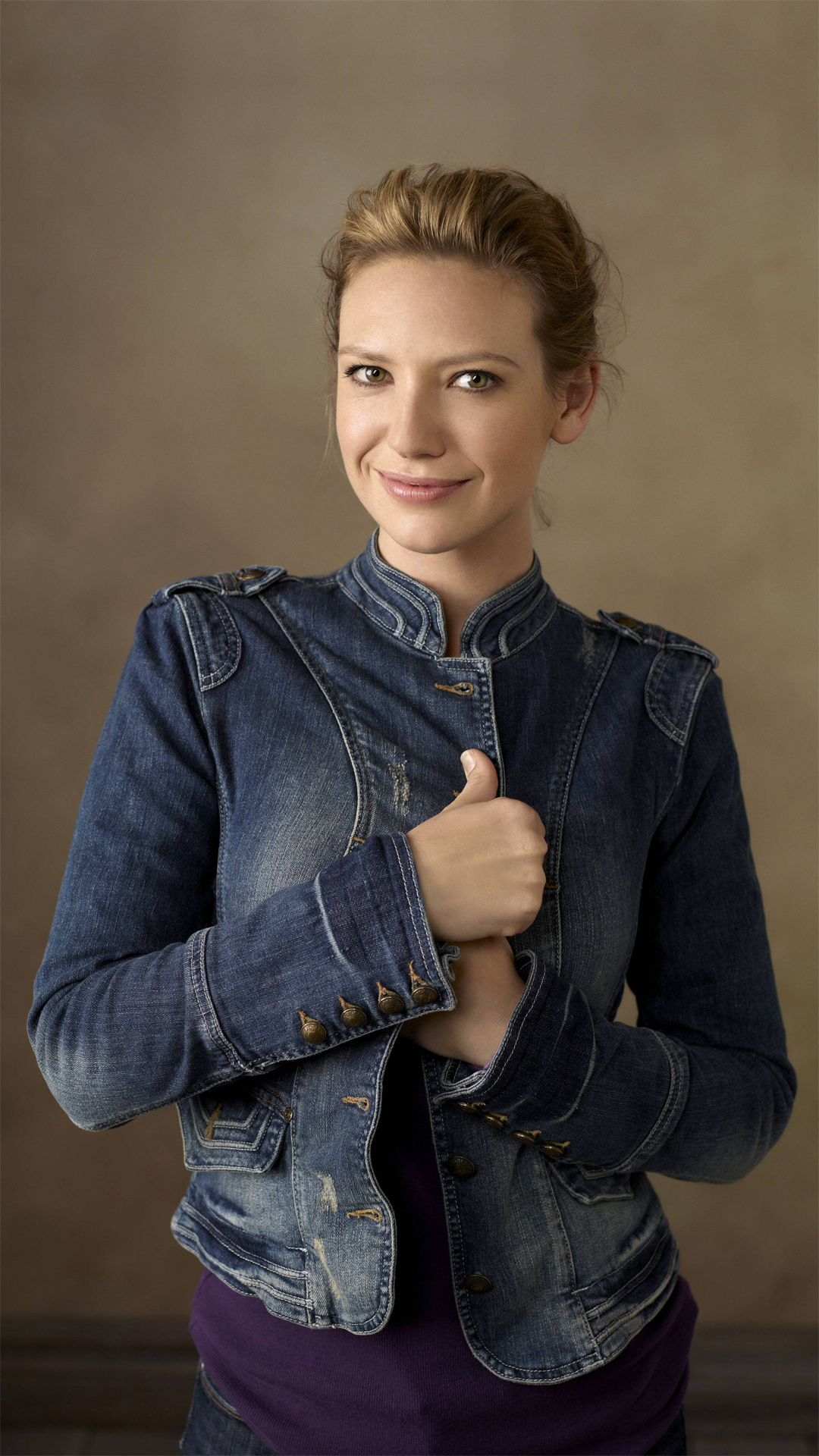 Anna Torv htc one wallpaper