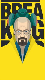 Breaking Bad Heisenberg 1080×1920 wallpaper