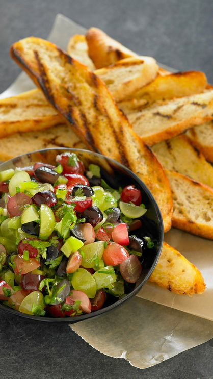 Fresh Classic Grape Salsa