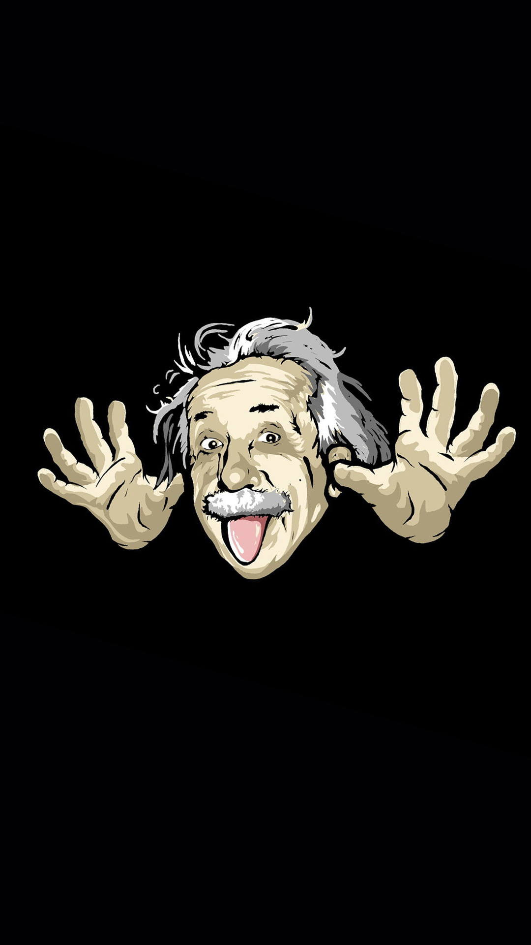 Funny Albert Einstein htc one wallpaper