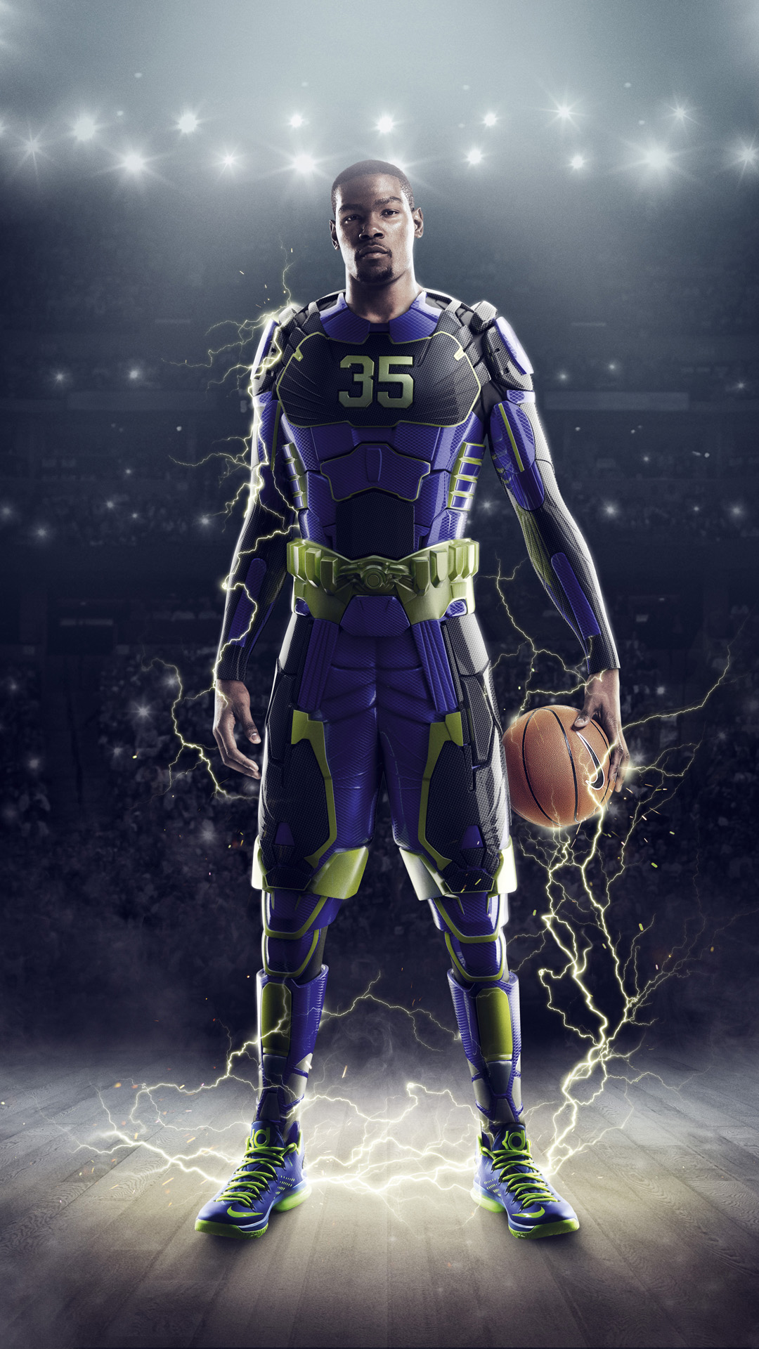 Kevin Durant htc one wallpaper