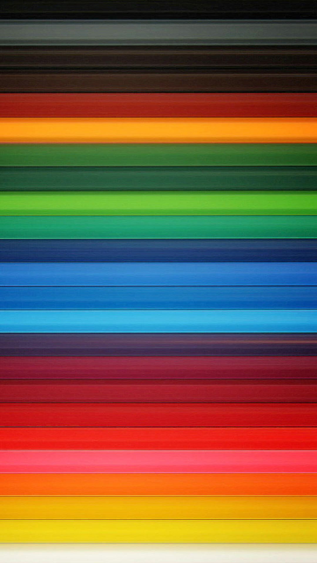 Neon Light Vertical Stripes
