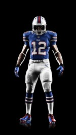 Nike Buffalo Bills uniforms