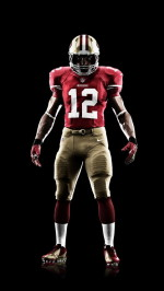 Nike San Francisco 49ers uniform