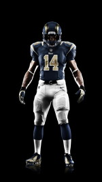 Nike St. Louis Rams uniform