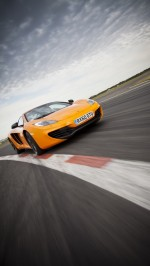Orange McLaren MP4-12C