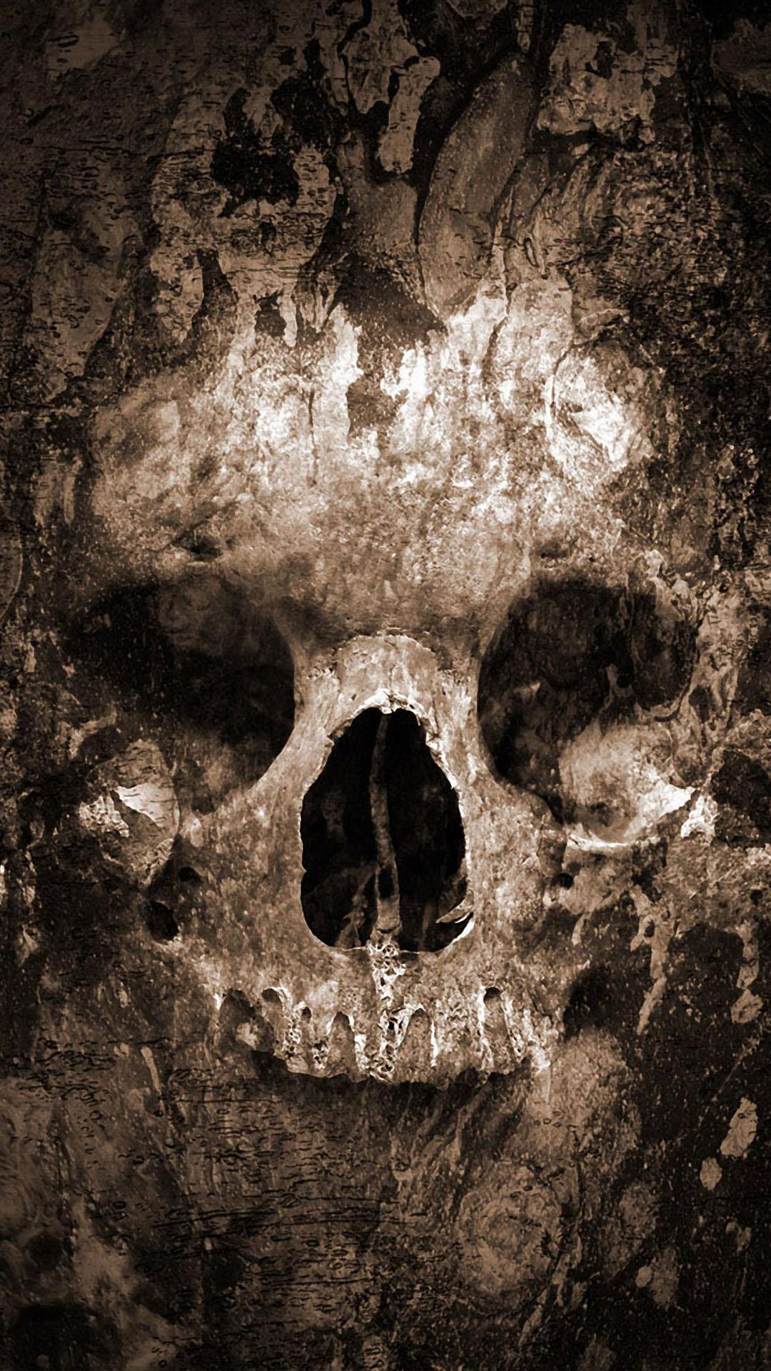 Quake Skull htc one wallpaper