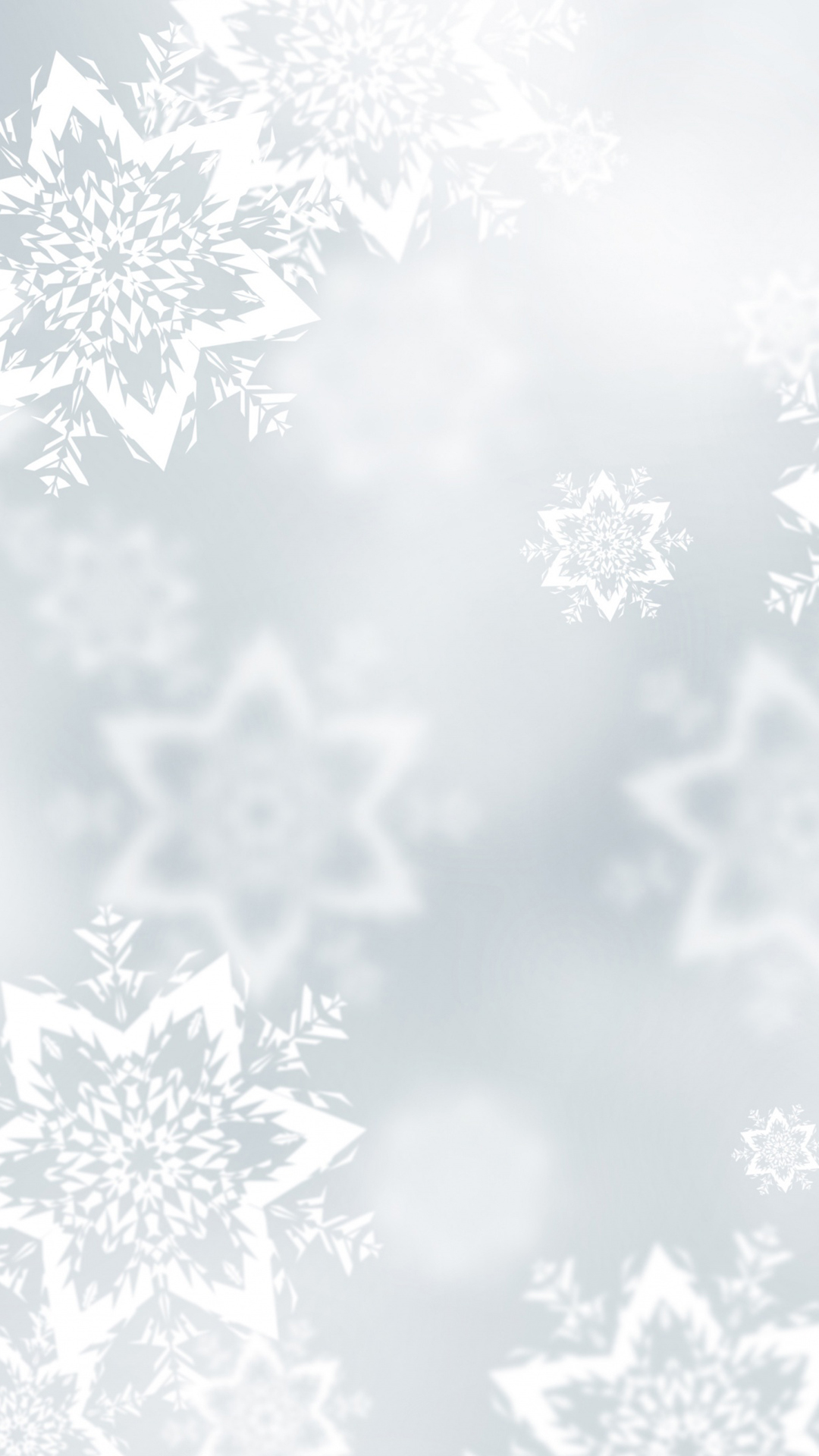 Snowflakes htc one wallpaper