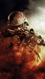 Soldier modern warfare htc one wallpaper