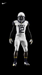 Nike Football Navy Uniform
