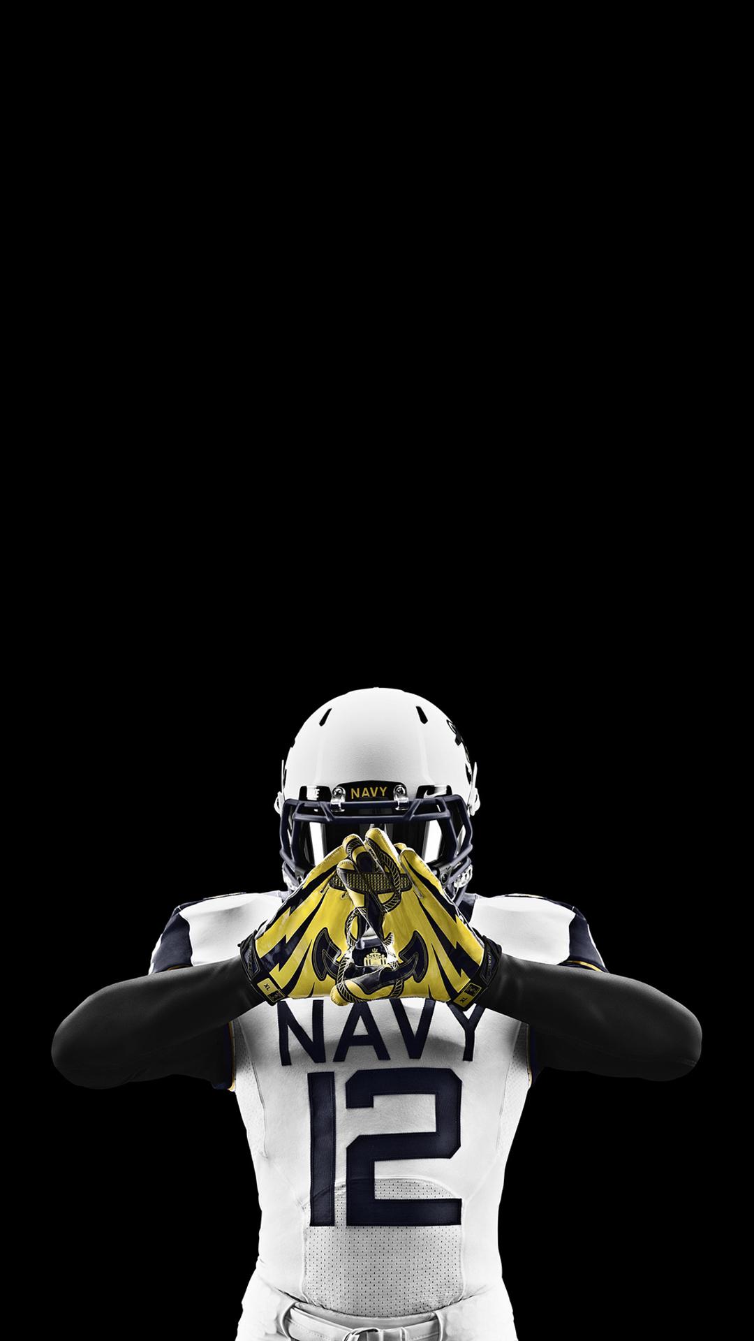 Nike Football Navy Uniform