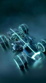 Car concept Tron