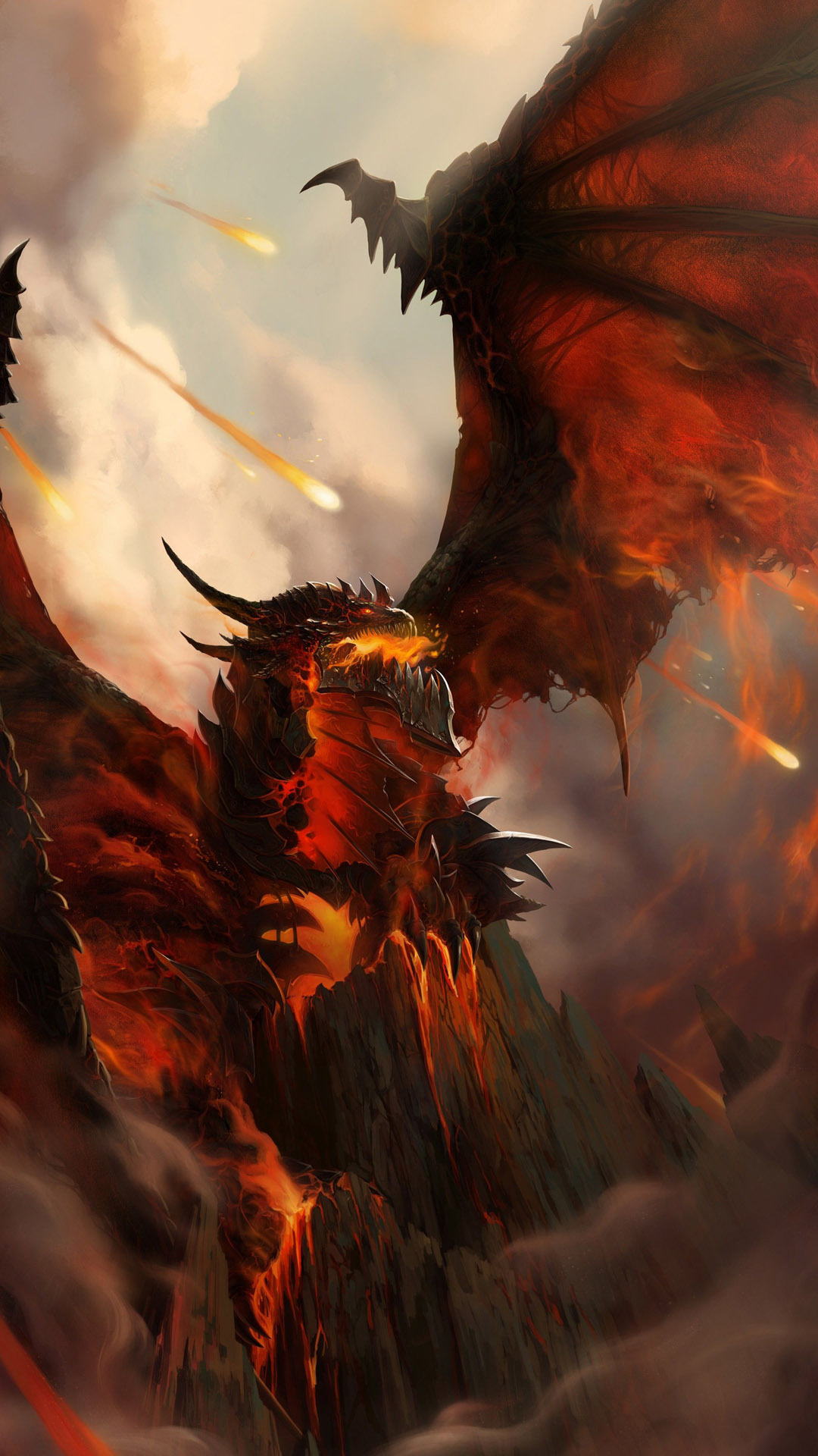 Deathwing htc one wallpaper