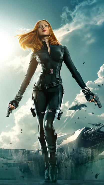 Natasha Romanoff Black Widow Best Htc One Wallpapers