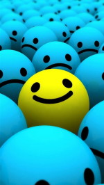 Smile htc one wallpaper