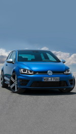 volkswagen golf 7 car