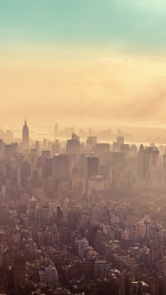 New York City Sunrise Haze