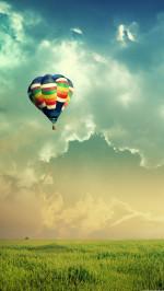 Air ballons Landscape