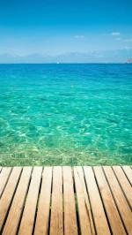 Clear Tropical Ocean Water