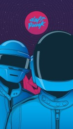 Daft Punk graphic
