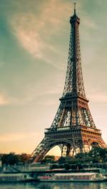 Eiffel Tower Tilf Shift View