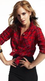 Emma Watson red shirt