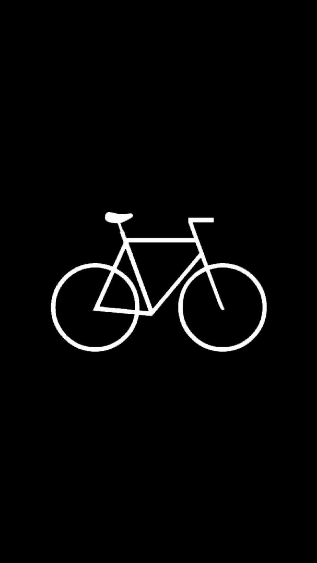 Flat Simple Bicycle Hipster