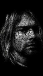 Kurt Cobain illustration