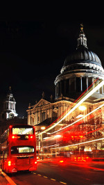 London St Paul Cathedral Double Decker