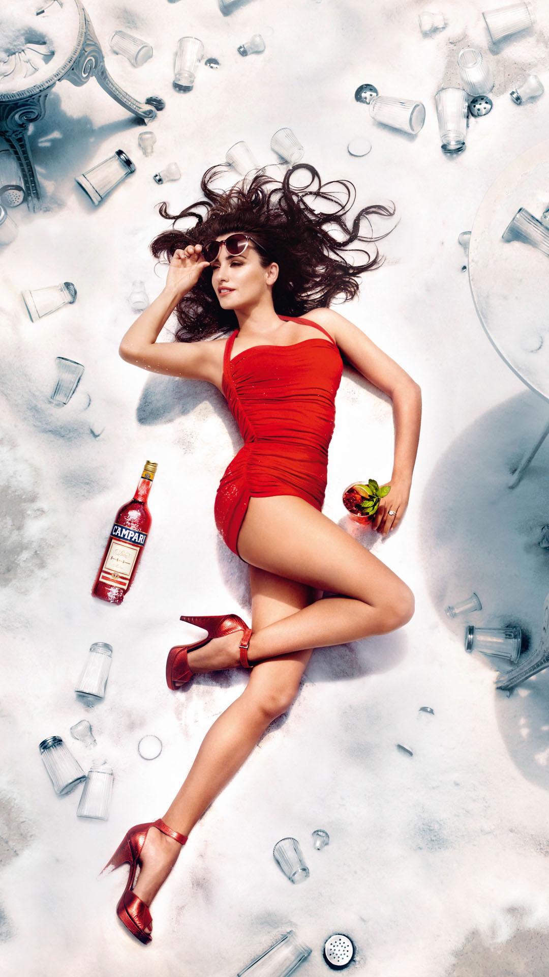 Penelope Cruz Campari calendar