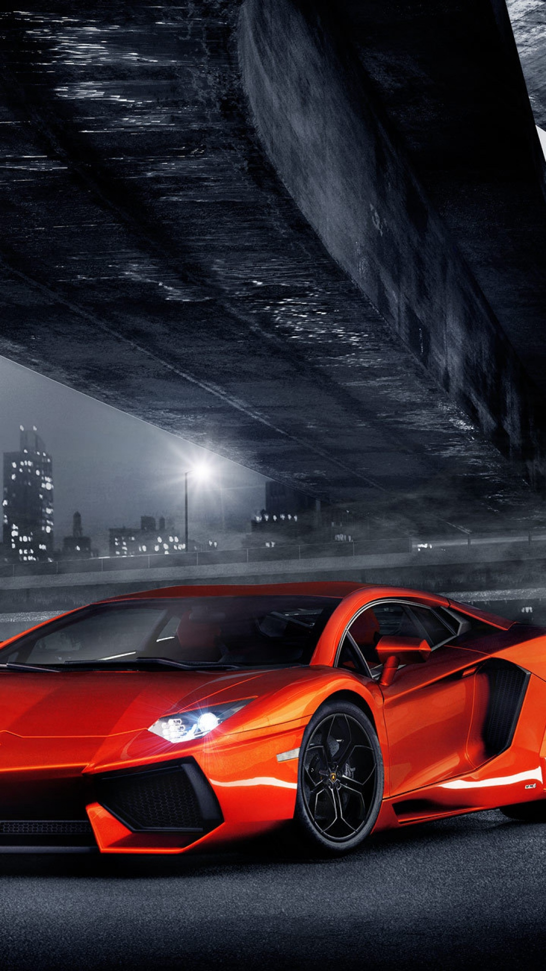 Red Lamborghini Aventador Best Htc One Wallpapers