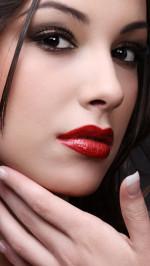 Red Lipstick Portrait