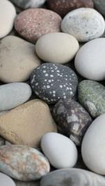 Soft White River Rocks