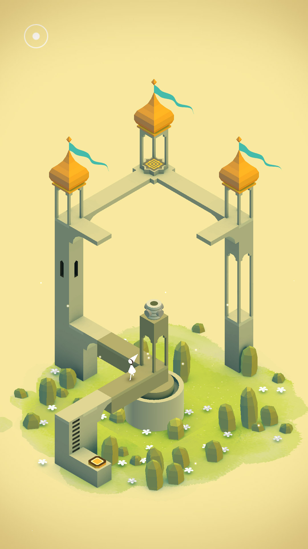 Surrealistic puzzle Monument Valley