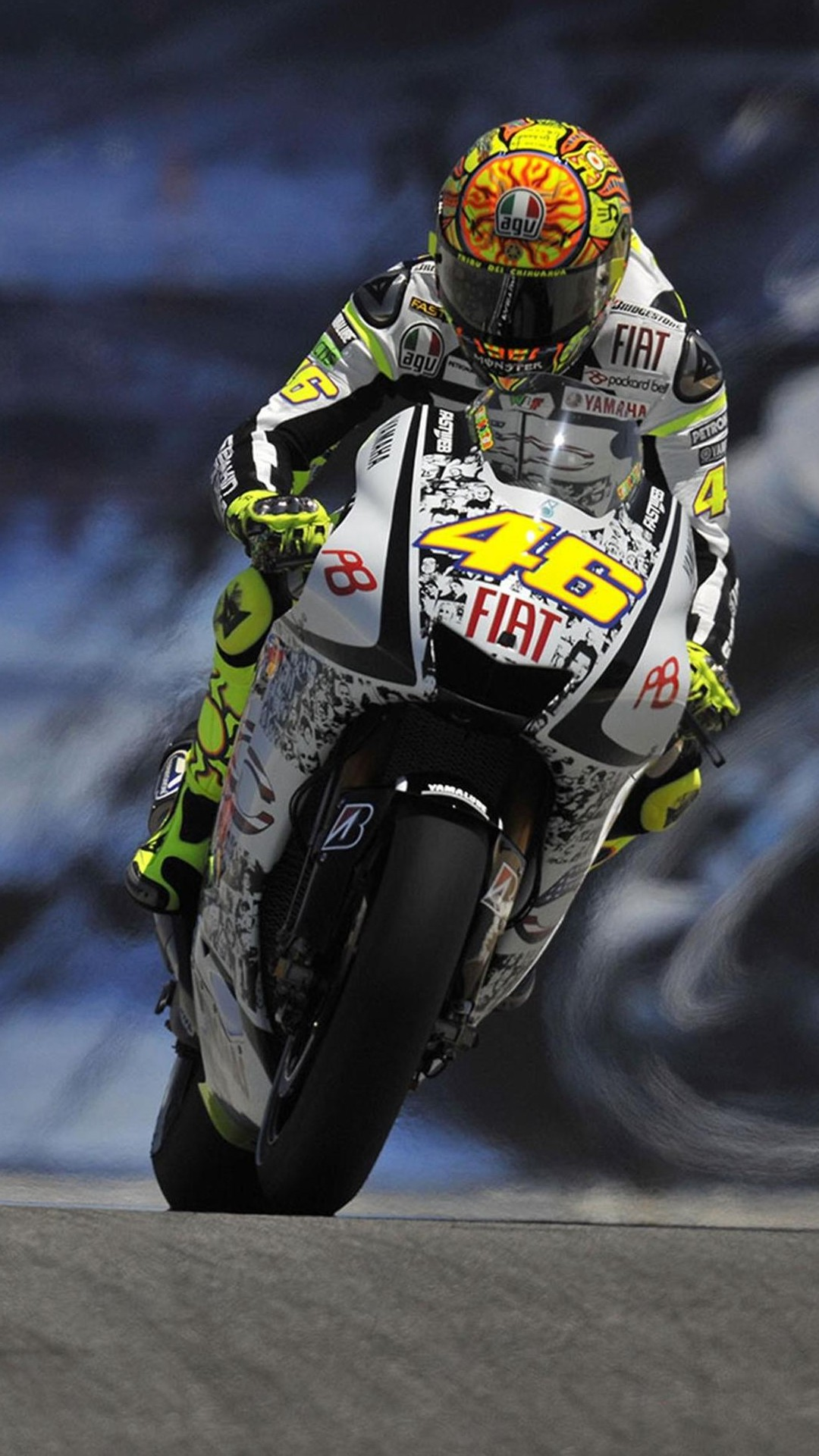 Valentino Rossi MotoGP - Best htc one wallpapers
