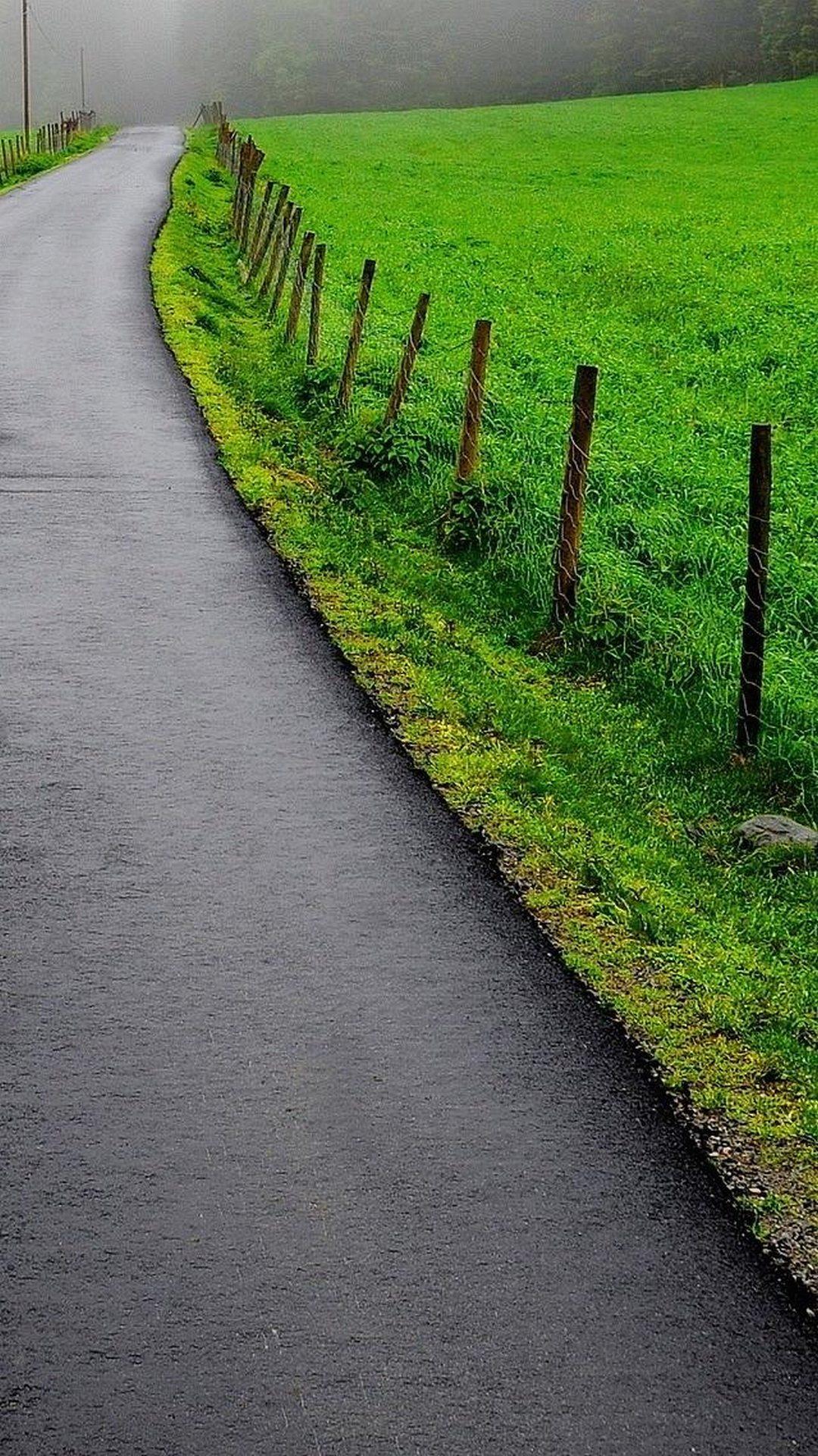 British country road