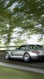 Mercedes Benz SLS 63 AMG speed