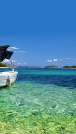 Boat shore beach