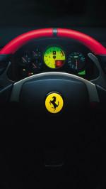 Ferrari stradale steering wheel