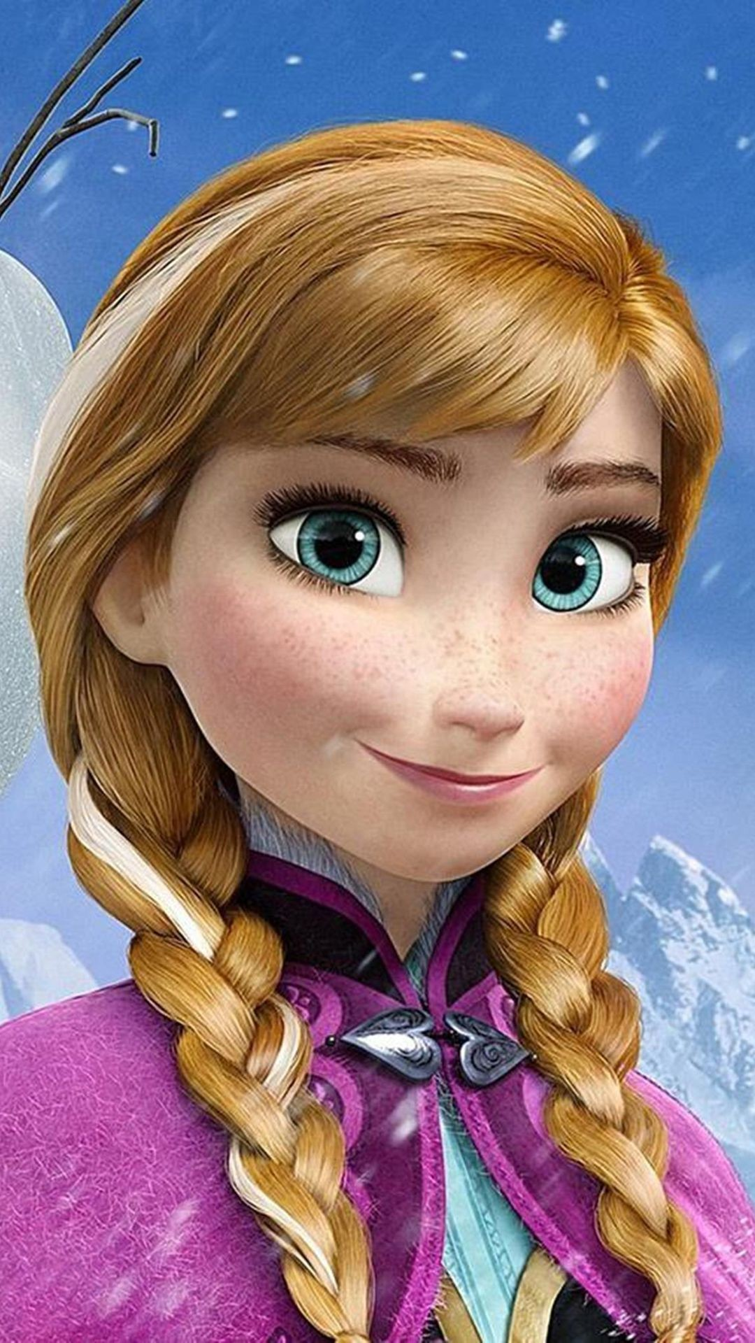 frozen anna best htc one wallpapers free and easy to